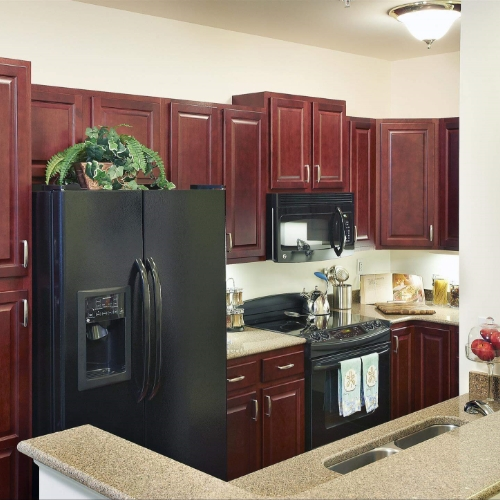 Independent Living at Aberdeen Heights Kirkwood kitchen card