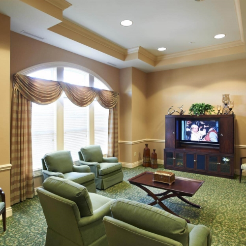 Aberdeen Heights Assisted Living dining area