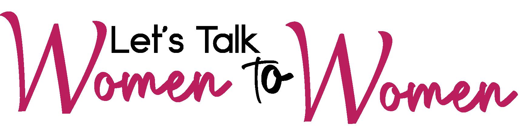 Women to Women Speaking Series Logo