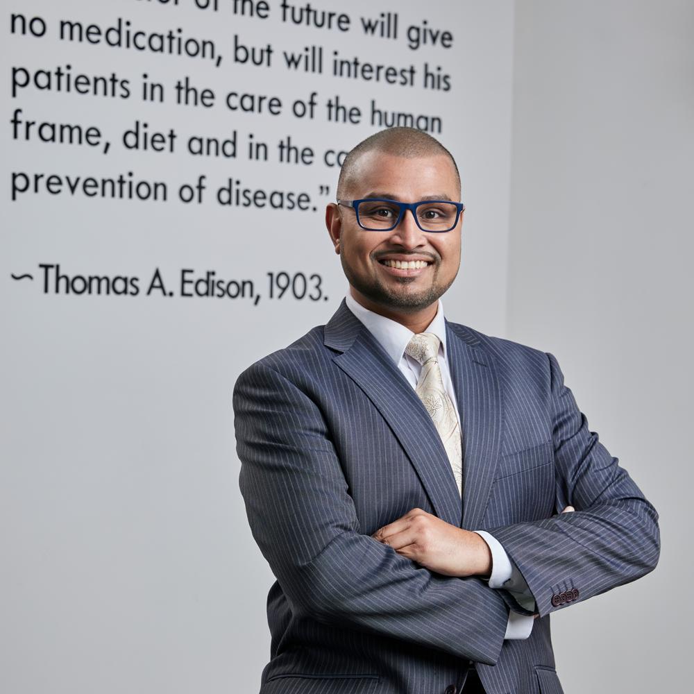 Afraz Adam, Edison Doctor