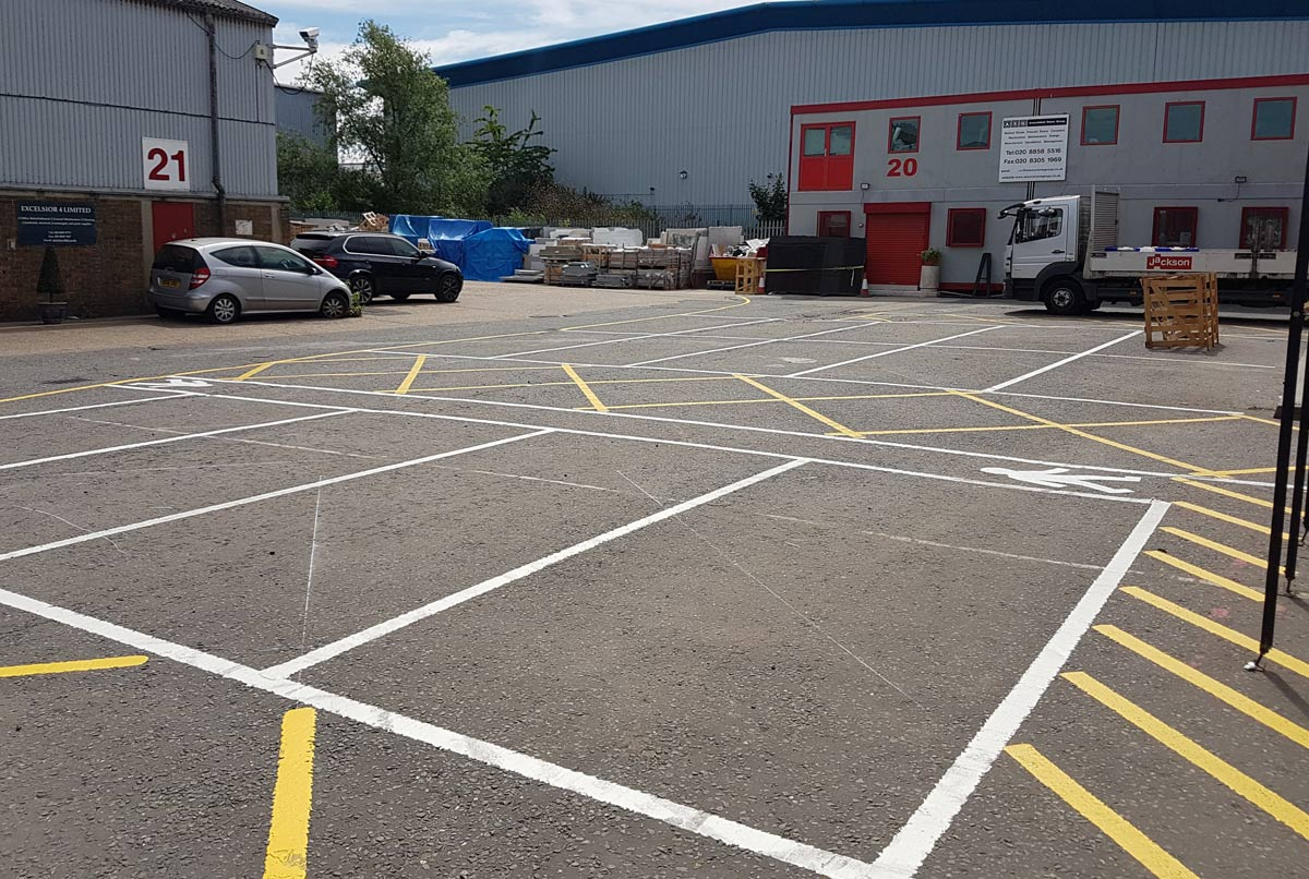 Trusted Car Park Line Marking Services | Total Line Marking