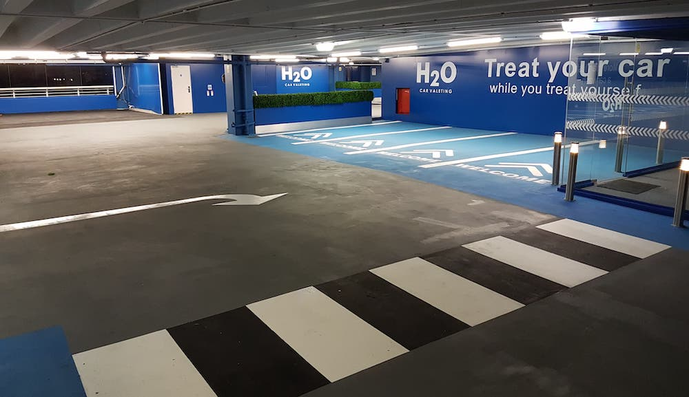 Triflex & MMA Car Park System in the UK | Total Line Marking