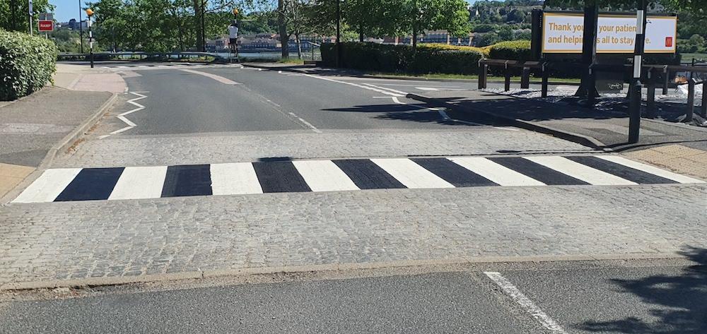 Line Marking - Zebra Crossing