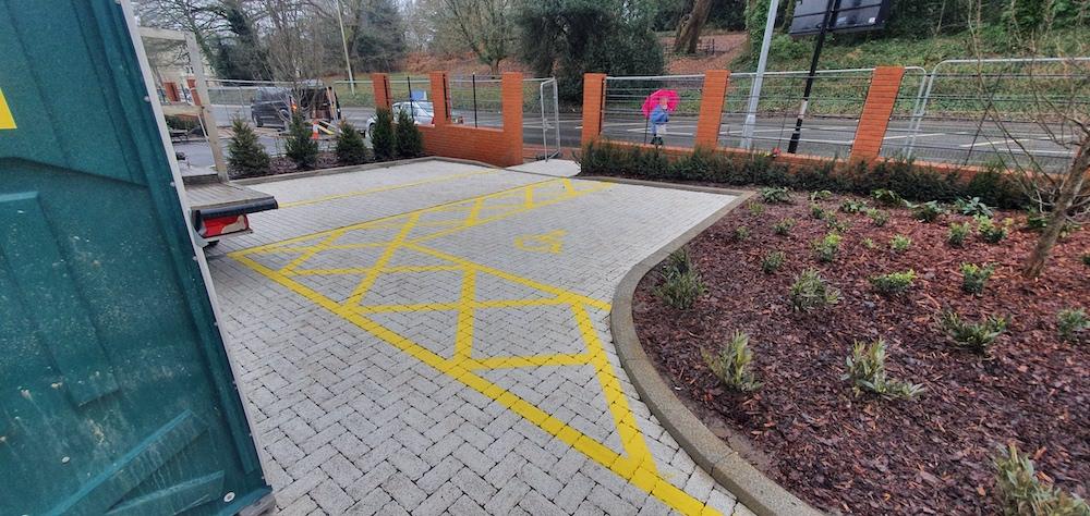 Line Marking - Disabled Parking