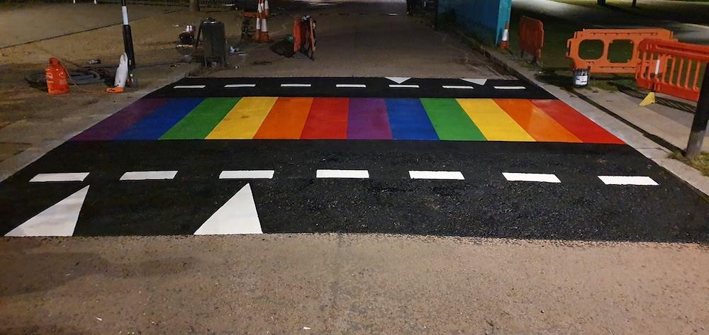 Line Marking - Rainbow