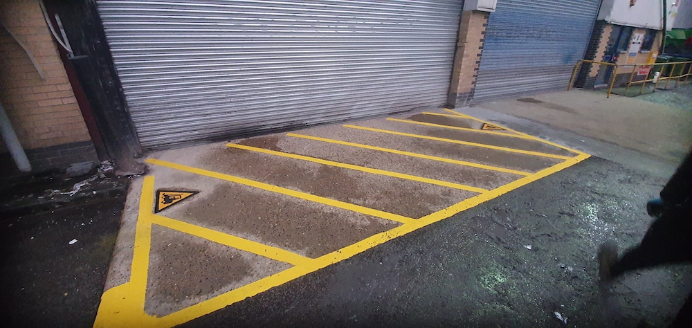 Line Marking - Loading Bay