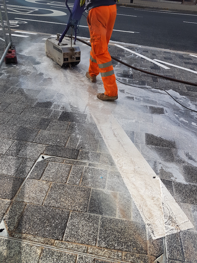 Road Marking Cleaning