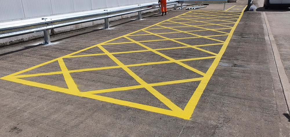 Box Junction Line Marking