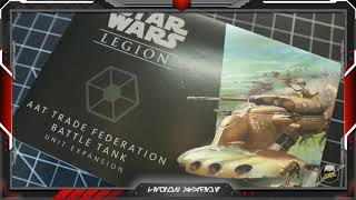 AAT Trade Federation Battle Tank Unboxing