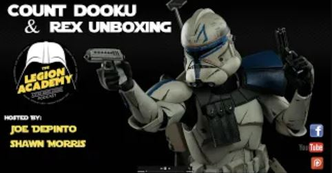 Captain Rex and Count Dooku Unboxing and Discussion