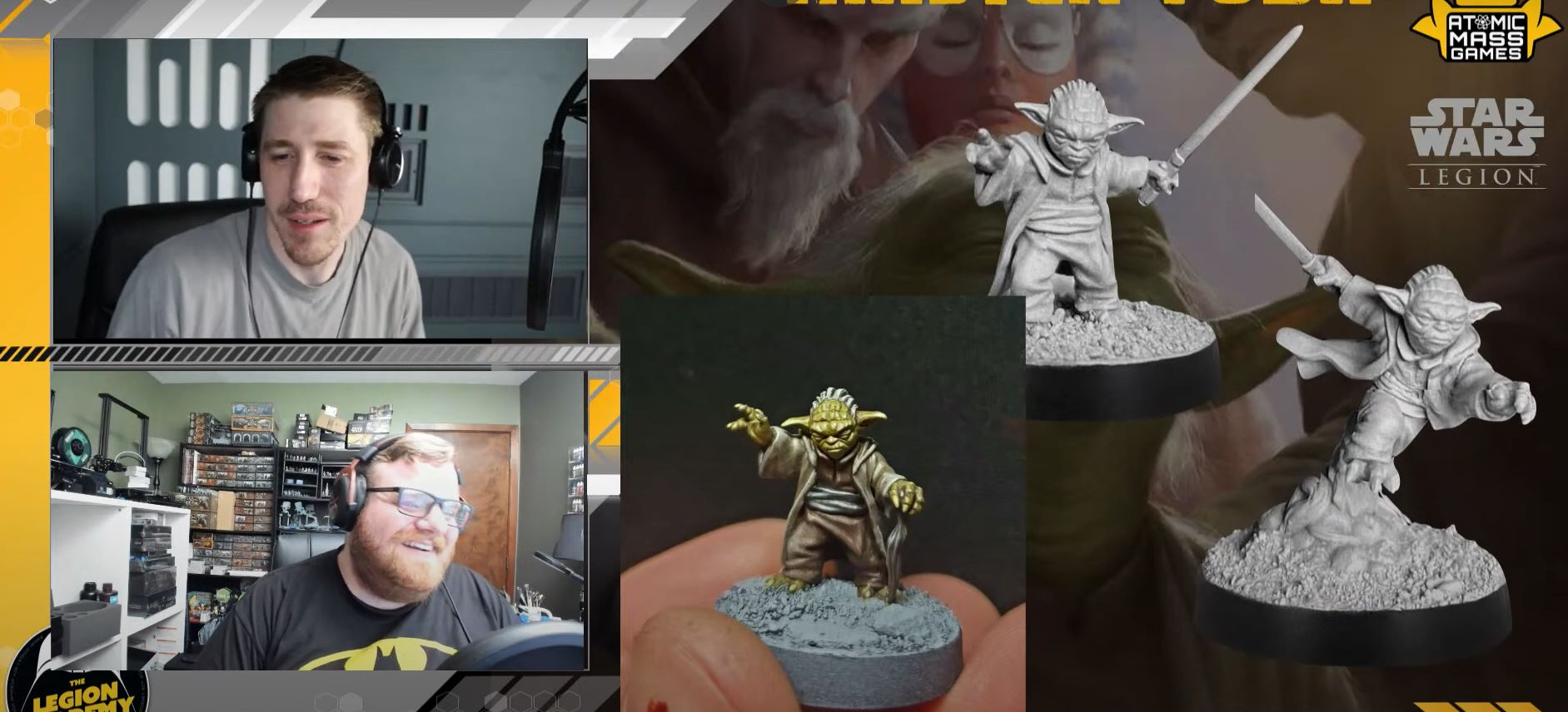 Yoda and the A-A5 Crew Upgrade Reveals
