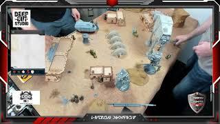 Double AT-ST Empire vs Luke AA-5 Speeder Truck Rebels.