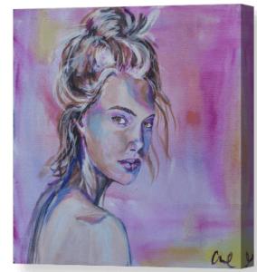The Boss not Bossy Artist Christina Carmel Canvas Print