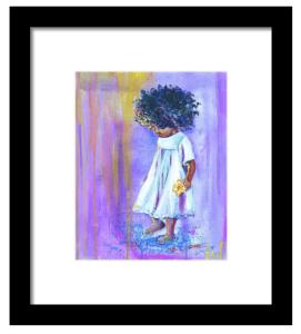 Free-By-Artist-Christina-Carmel-Framed-Print
