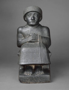 Statue of Gudea - The Met Museum