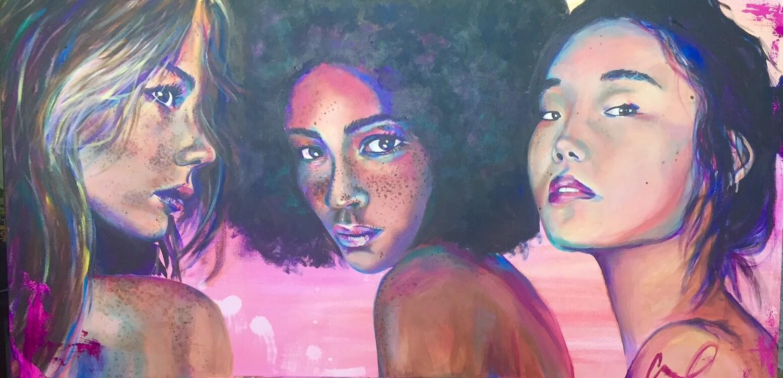 Artist Christina Carmel portrait the divine feminine