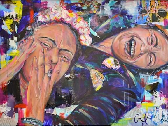 Passion in Creases (Frida and Chavela)