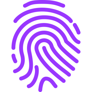 unique fingerprint