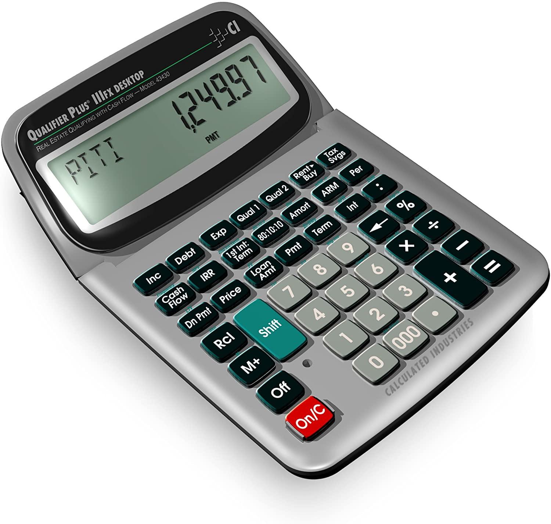 Qualifier Plus IIImage of Desktop PRO Real Estate Mortgage Finance Calculator