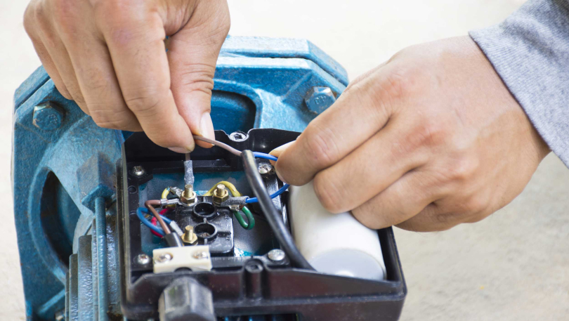 Repairing an electric motor