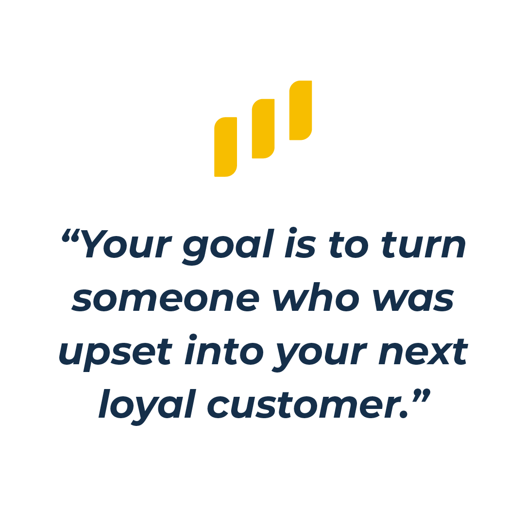 loyal customer quote