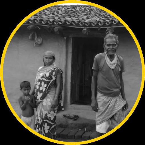 people living in rural india