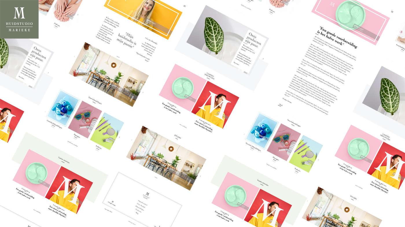 Case Huidstudio Marieke in Haaksbergen - Punt Digital Design