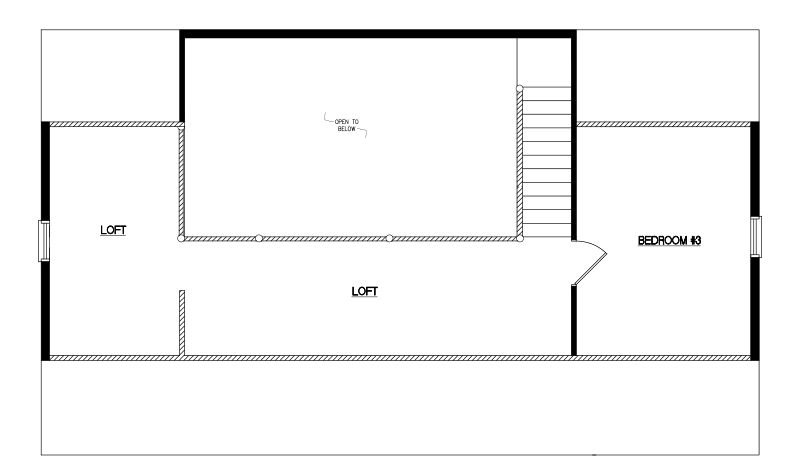 Timberline -26'x44'-Loft