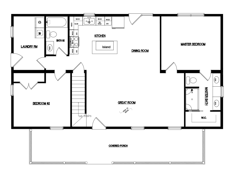 Timberline -26'x48'