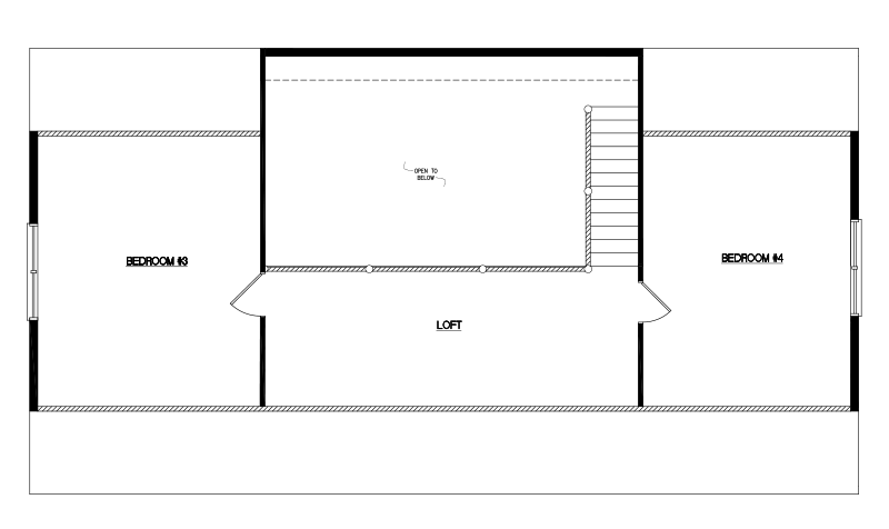 Timberline -28'x52'-Loft