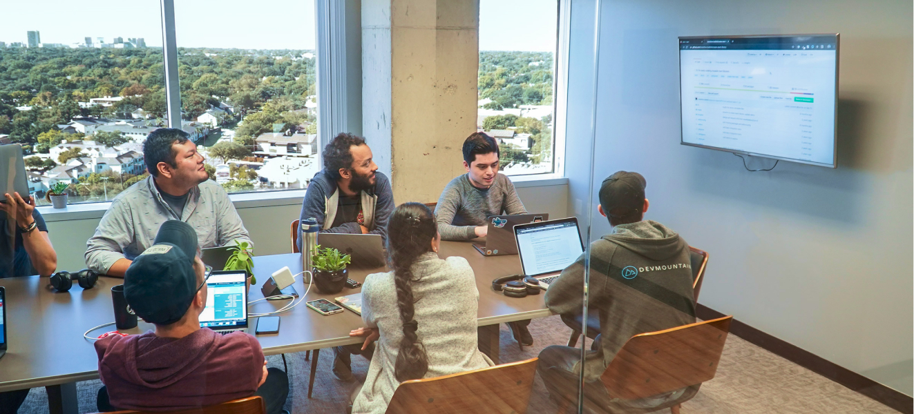 Developer's in a meeting