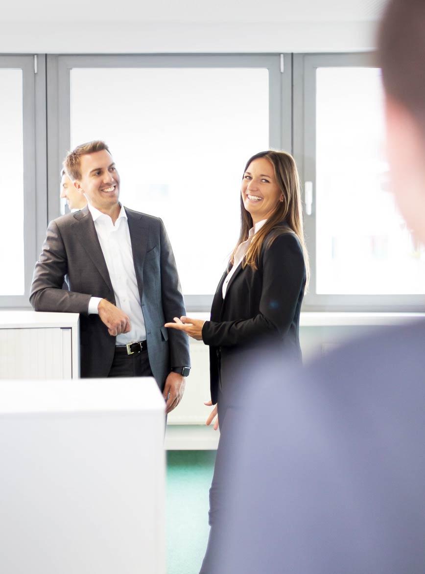 Das Projektteam der INSIGNION Management Beratung Frankfurt