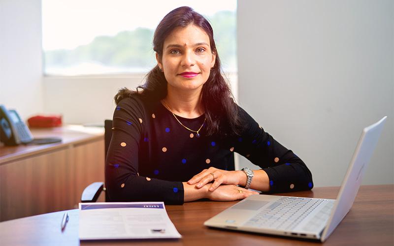 Bio headshot for Shweta Mittal