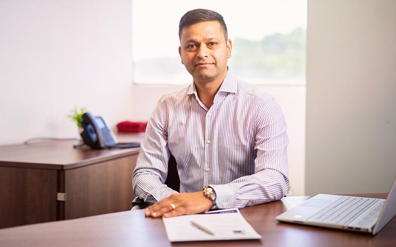 Bio headshot for Amit Mittal