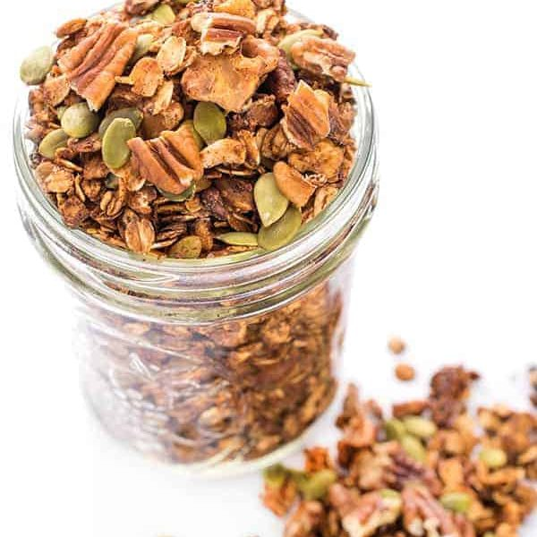HIGH PROTEIN HOMEMADE GRANOLA