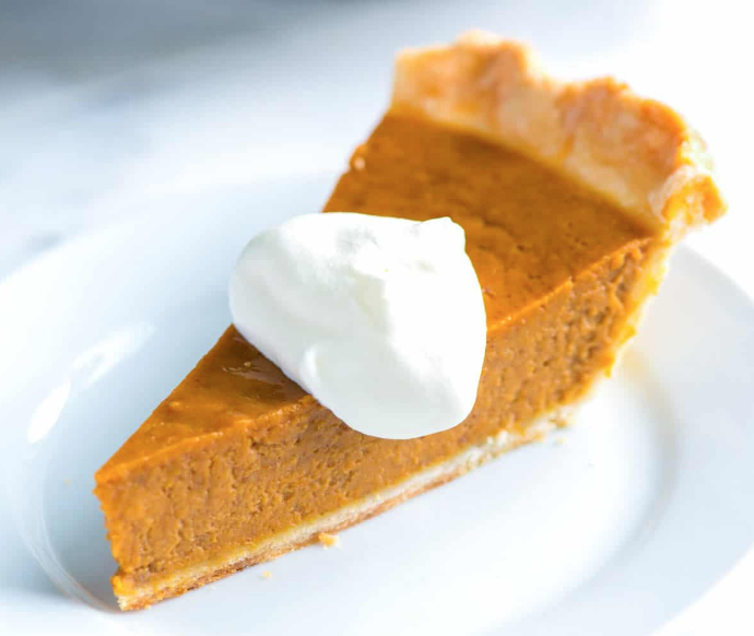Healthy Pumpkin Pie - Keto Sugar Free - Gluten Free -Pumpkin Pie