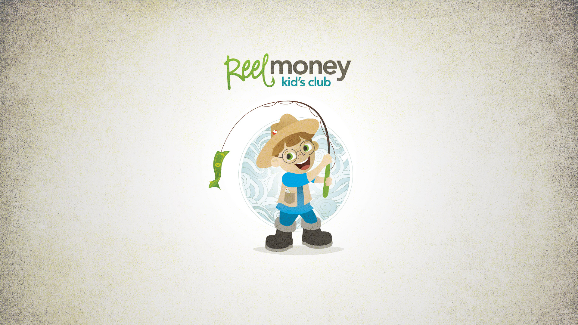 Character illustration of Gil, the Community South Reel Money Kids Club mascot.