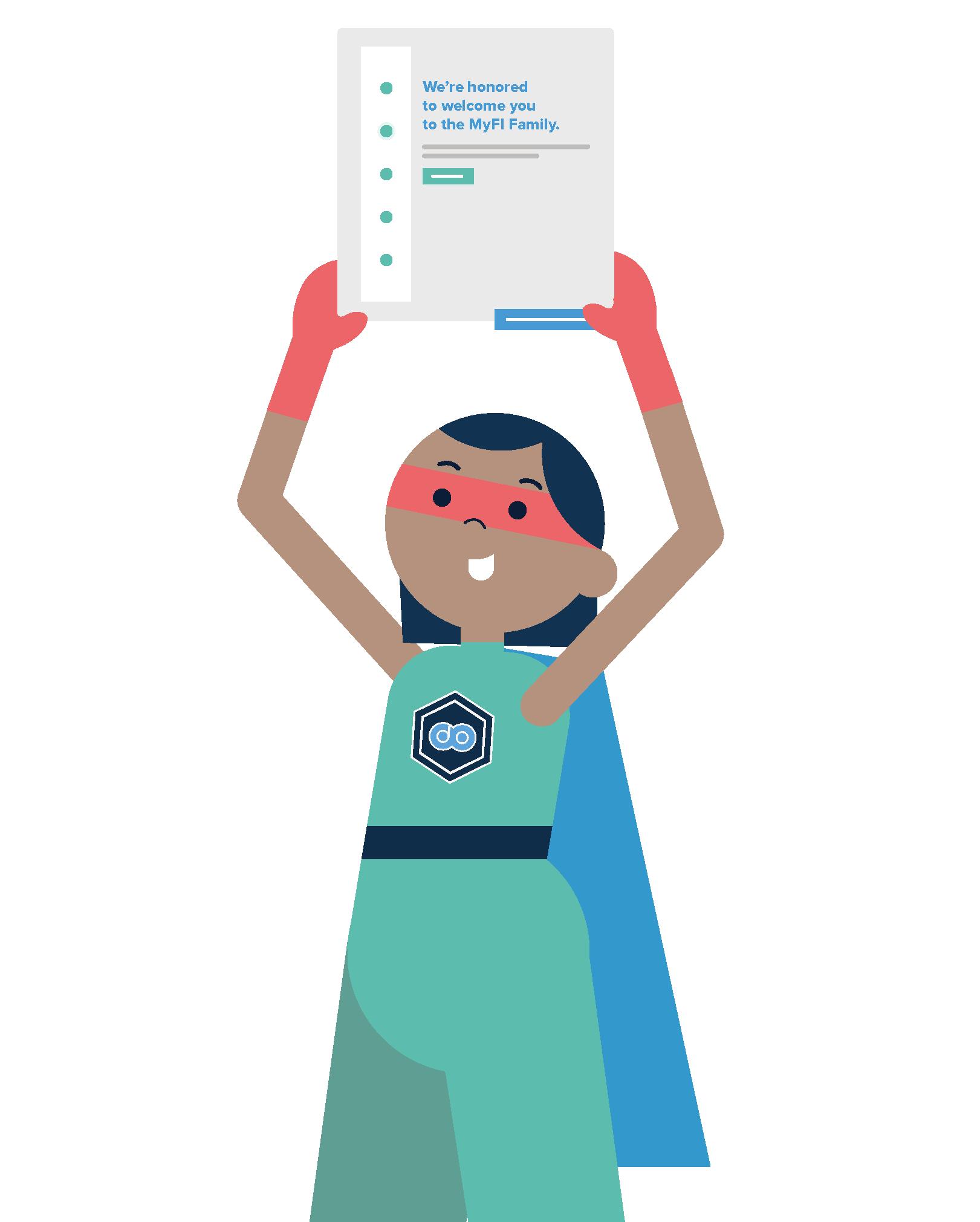 Image of Account Management superhero