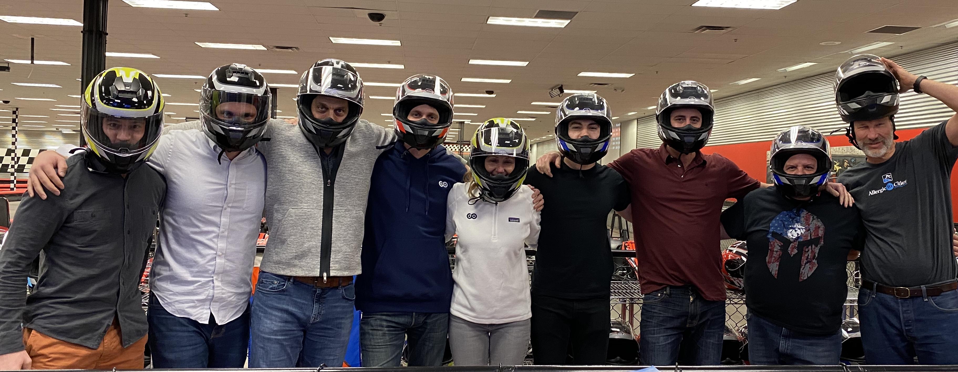 Team at Need 2 Speed event