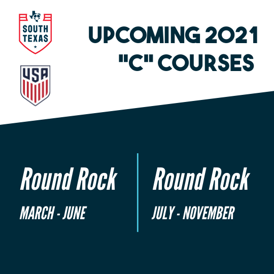 "STX Youth Soccer announces hosting of TWO ""C"" License Courses in 2021!!"