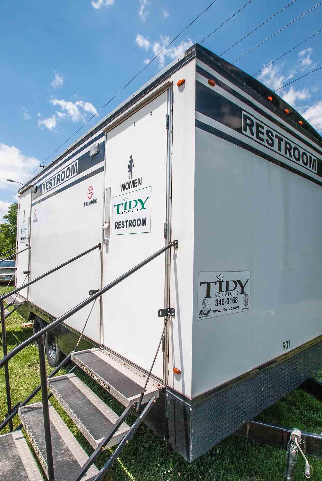 onsite restroom trailer