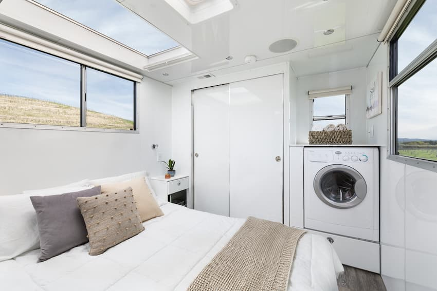 Luxury Travel Trailer Bedroom