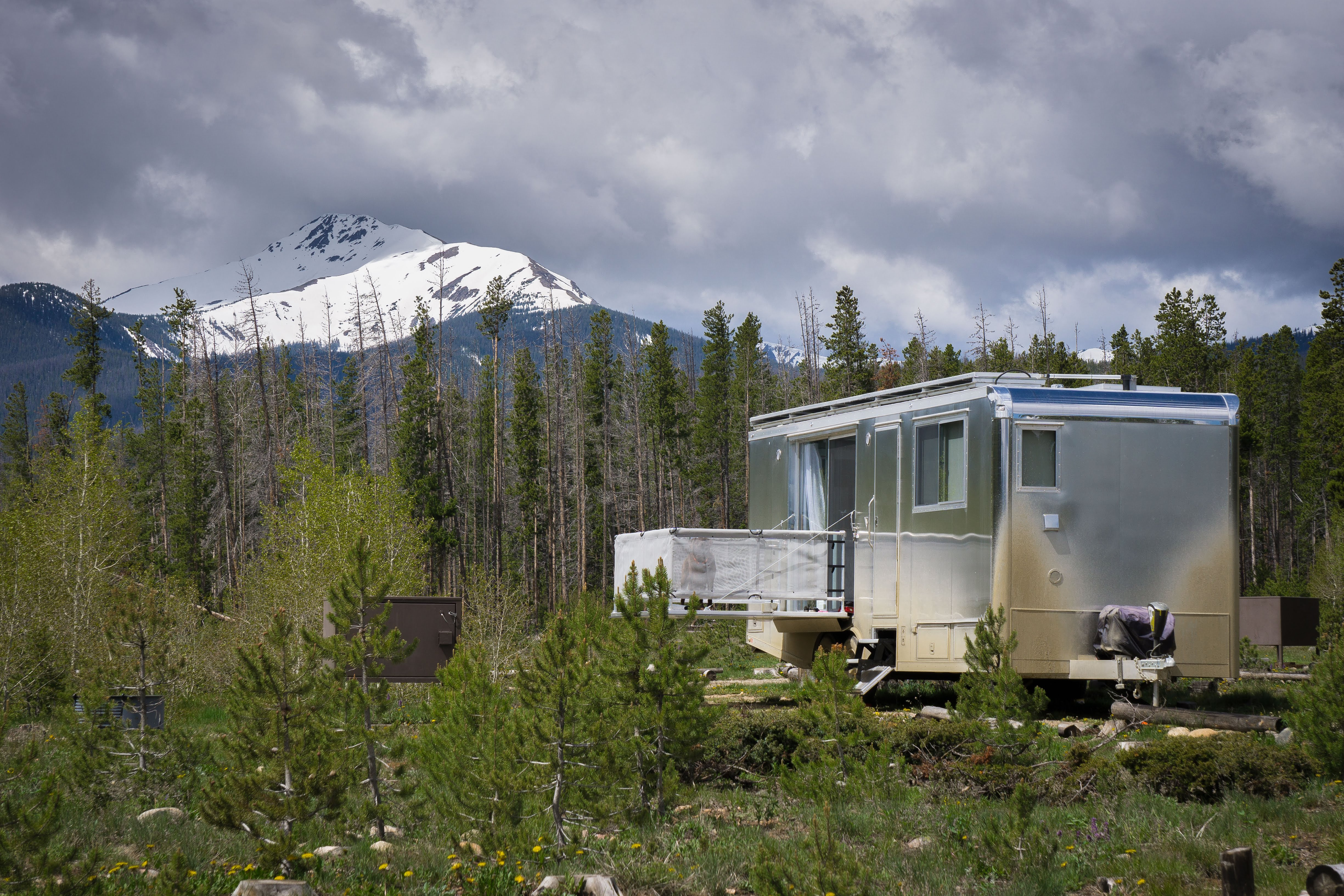 four season travel trailer