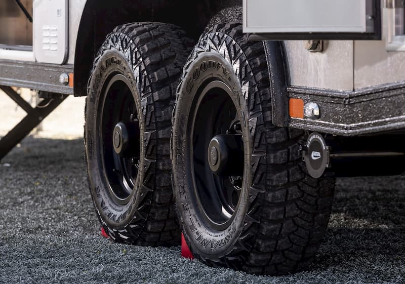 all terrain tires on a travel trailer