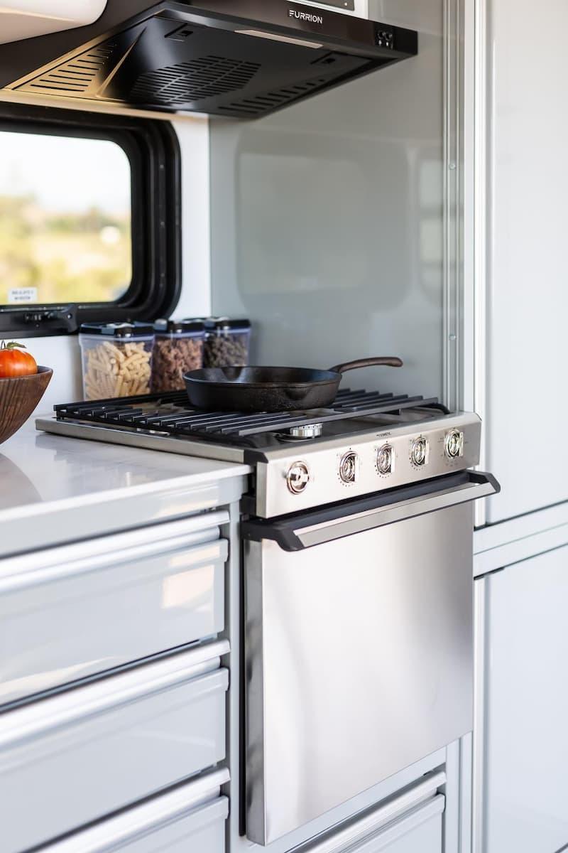 RV Kitchen Stove