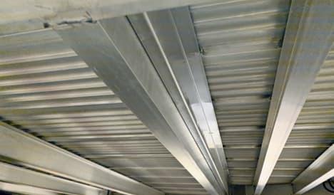 aluminum travel trailer ceiling beams