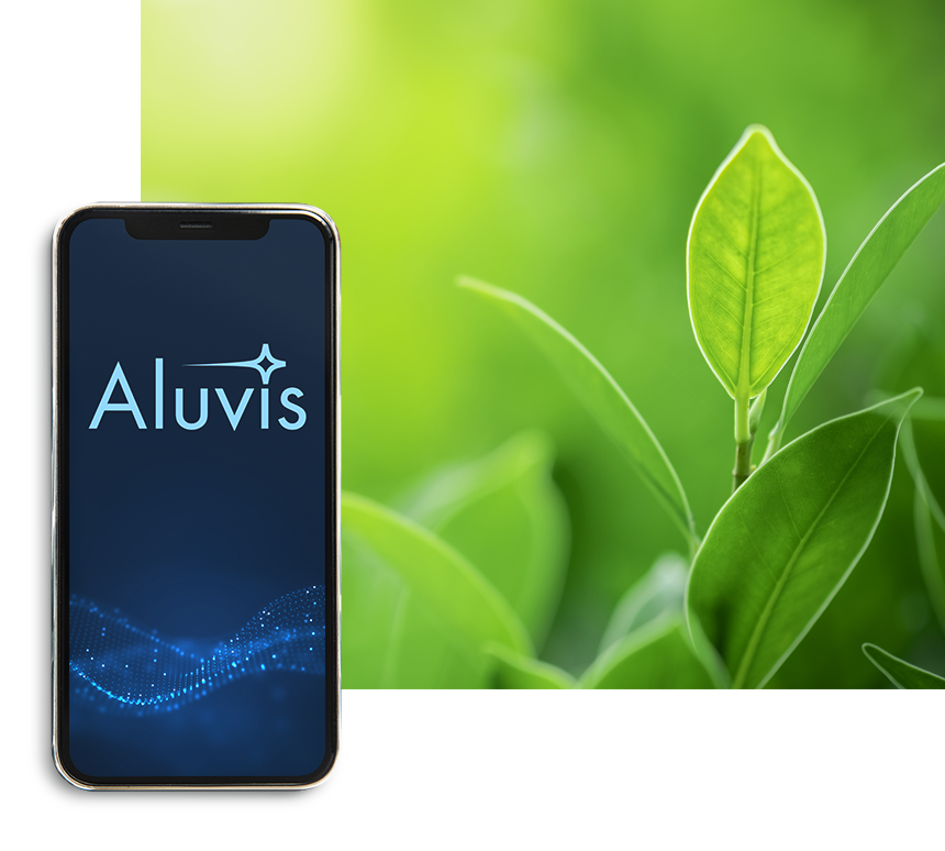 Aluvis is Green