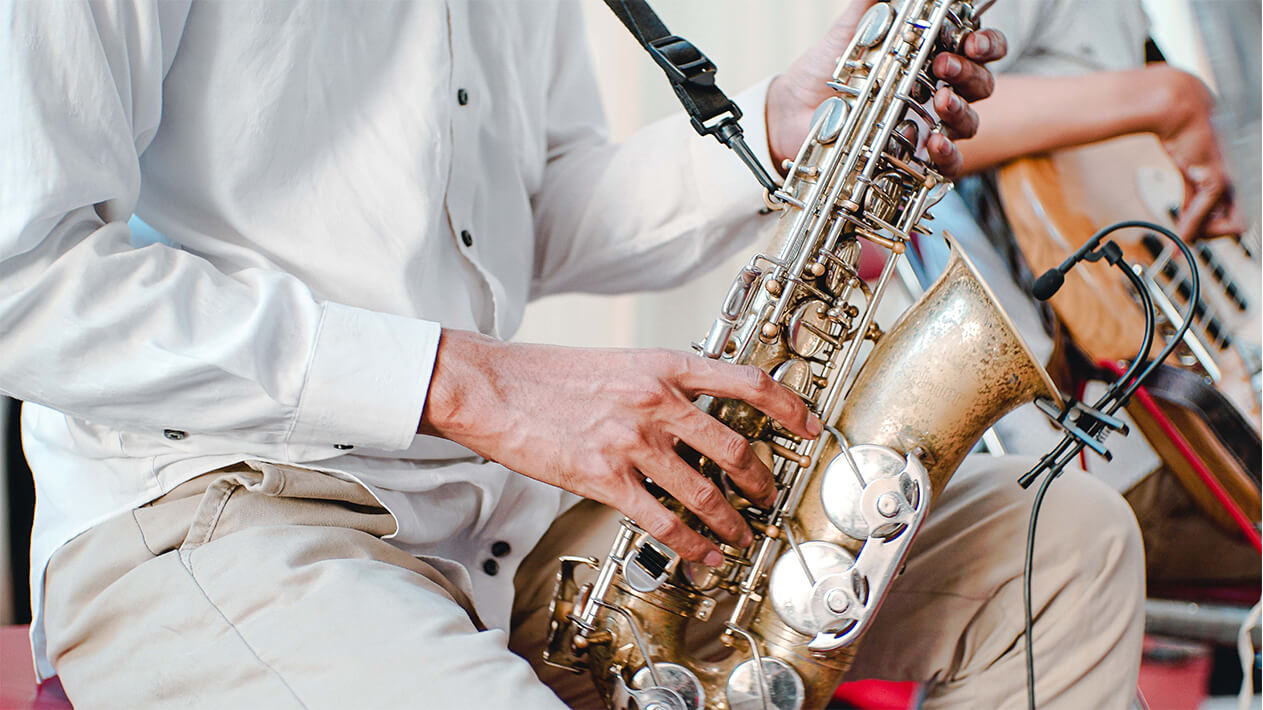 hire jazz band for wedding