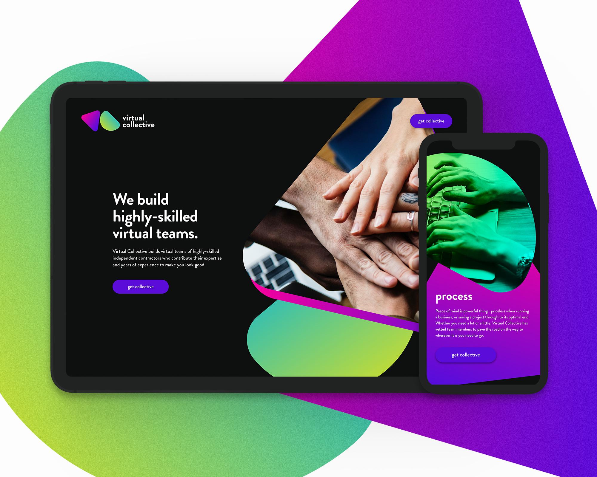 A Virtual Teams Website Design