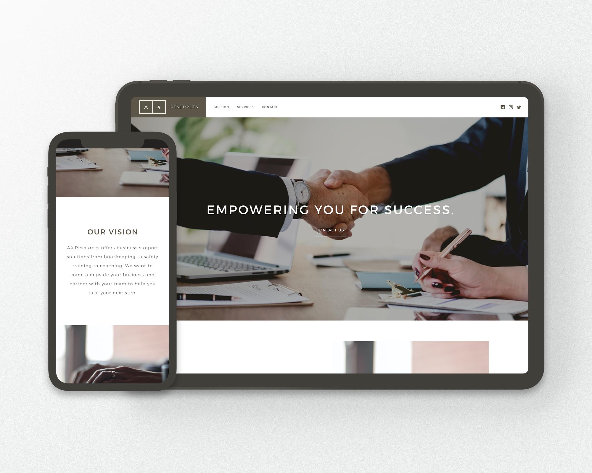 Business Solutions Website Design